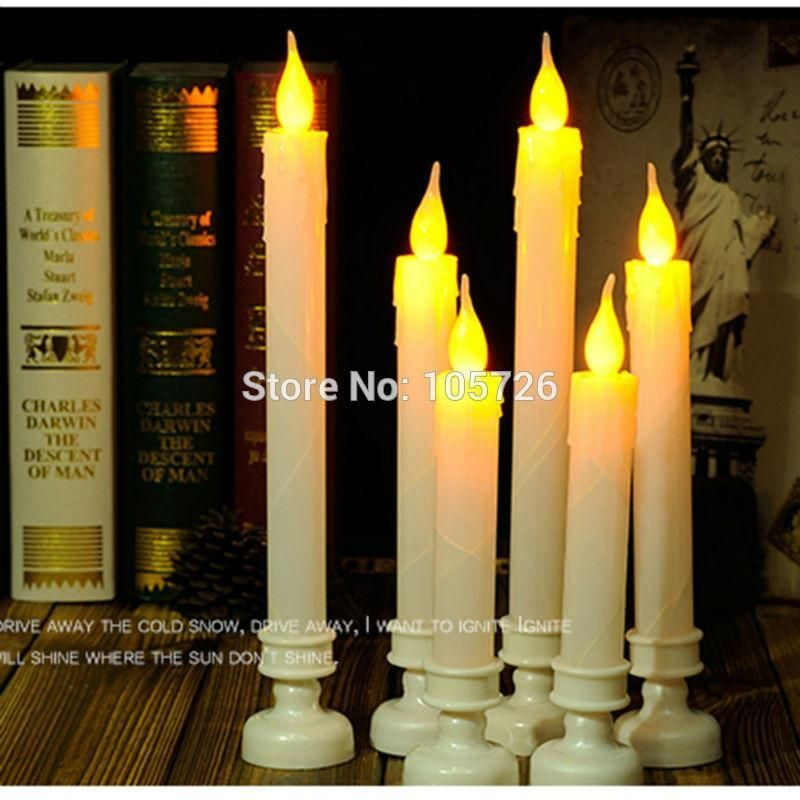 Electrical Pillar Flameless Led Candle (one pair) #christmascandleselectric #ledchristmascandles
