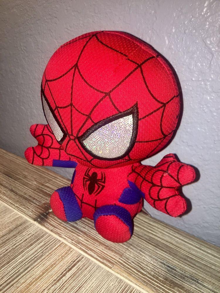 TY Marvel Spider-Man Plush NEW! Beanie Baby Babies Avengers 6