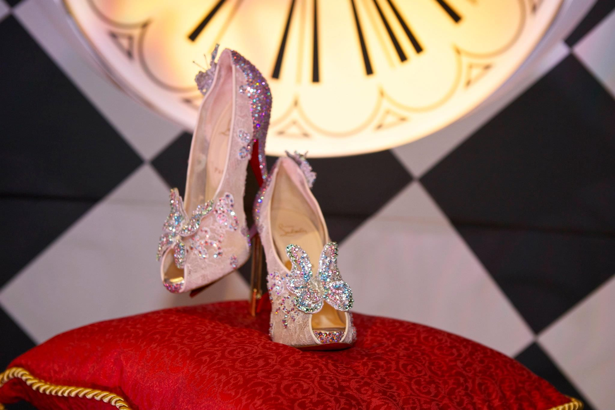christian louboutin disney shoes price