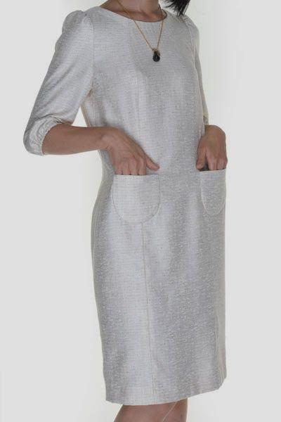 Vestidos rectos cortos patrones
