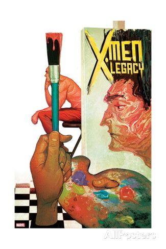 X Men Legacy 8 Cover Legion Posters Mike Del Mundo Allposters Com X Men Comic Book Artists Comics