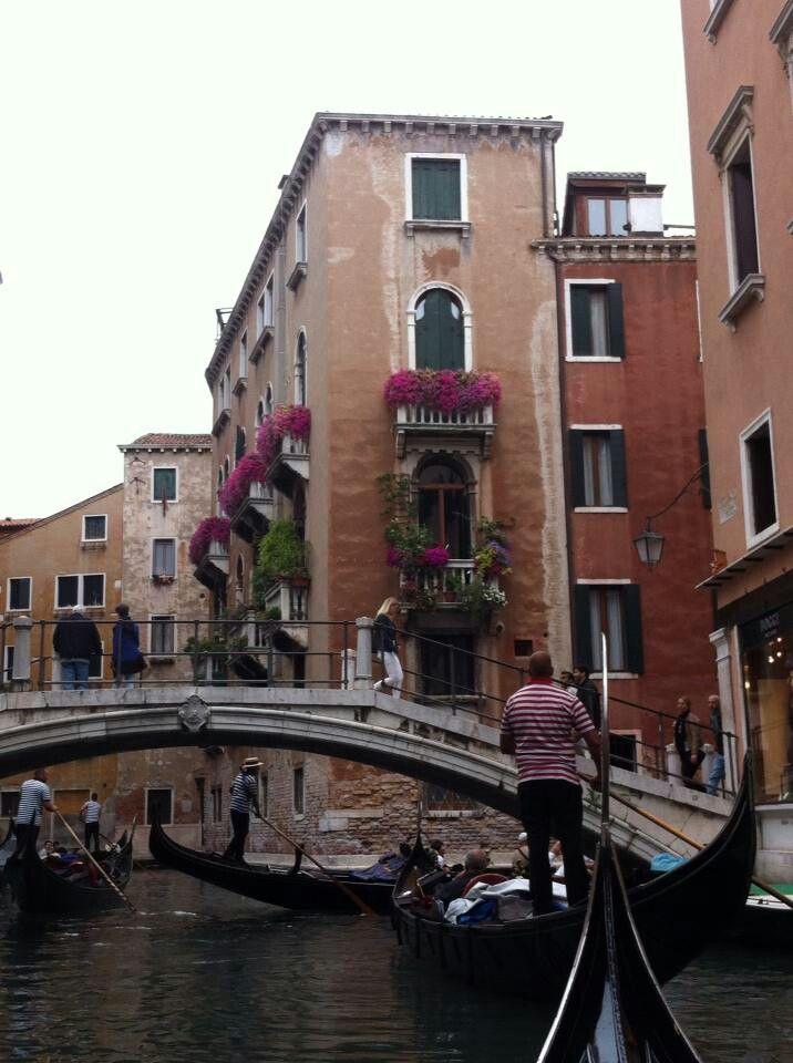Canais de Veneza.