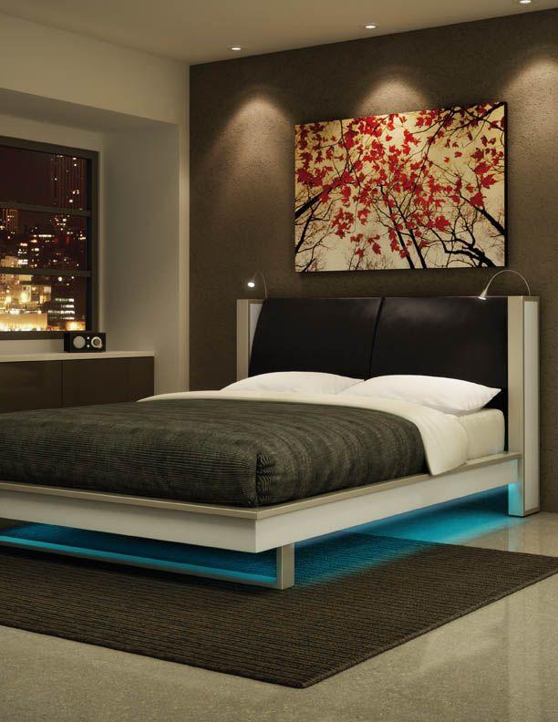 for Lighted platform bed