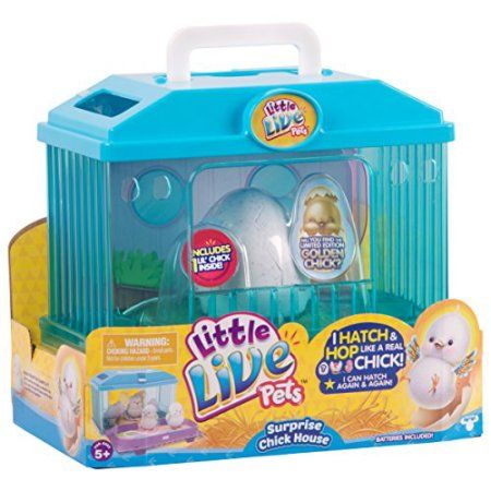 Toys Little Live Pets Baby Chicks Animals For Kids