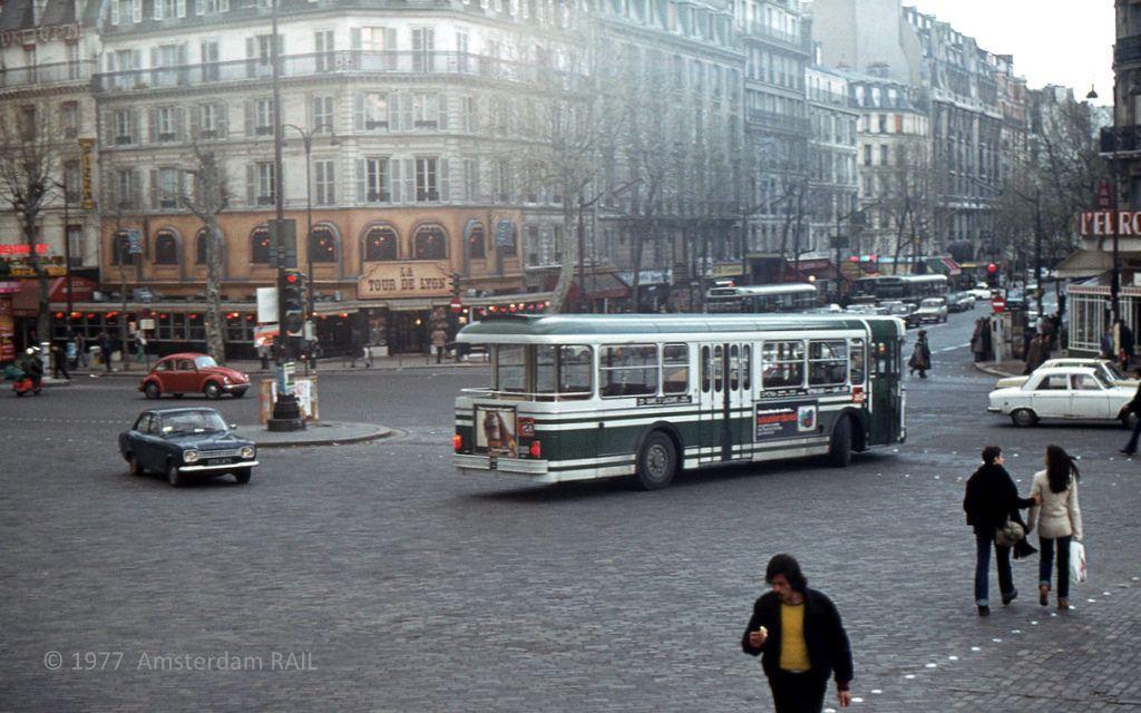 Gare de Lyon, Paris, 1977