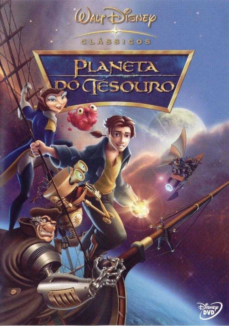 Planeta Do Tesouro 2002 Filmes Filmes Da Disney Filmes De Animacao