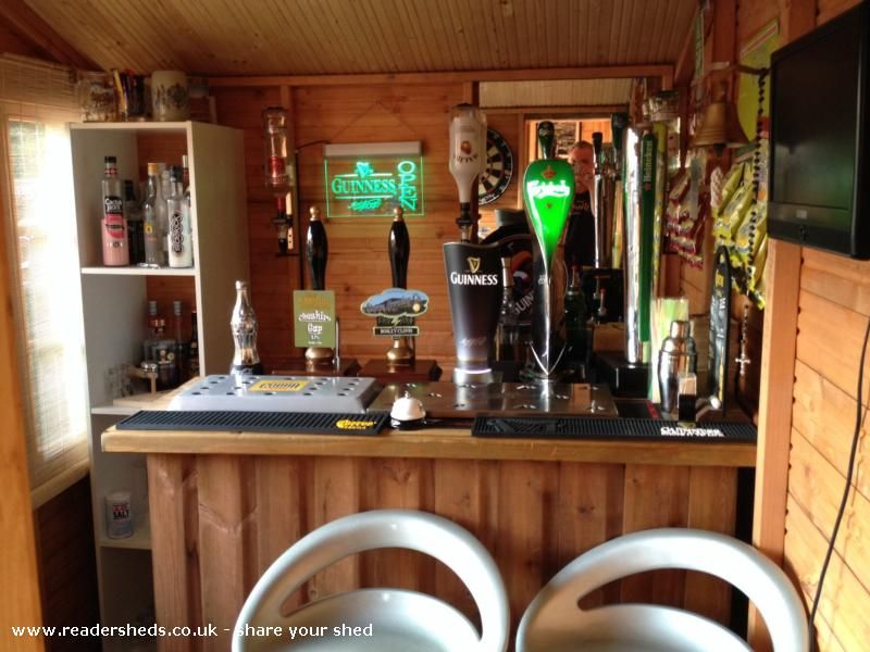 The Nags Shed Pub Entertainment From Top Of The Garden Shedoftheyear Pub Sheds Garden Bar Shed Bar Shed