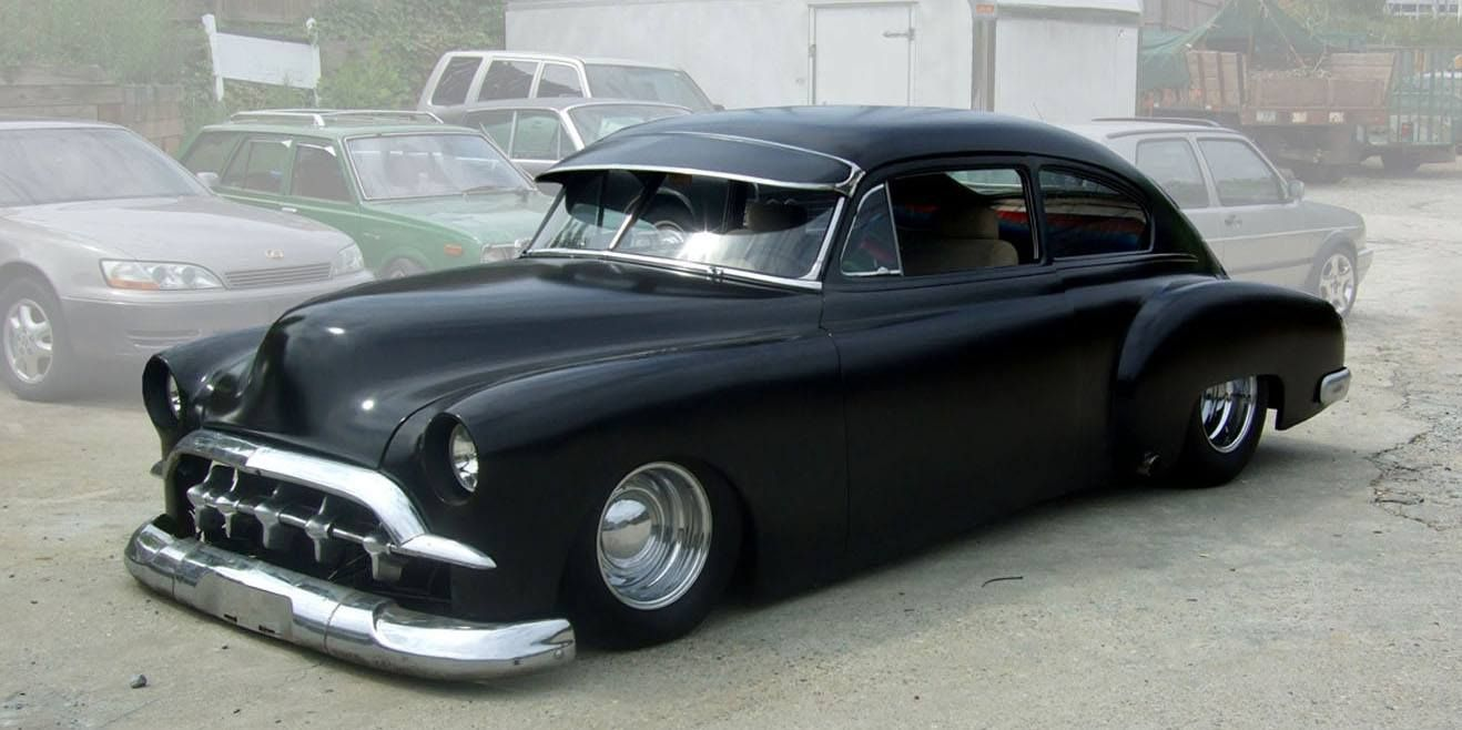 Mr Totem S 1949 Chevy Fleetline Leadsled Re Pin Brought To You By