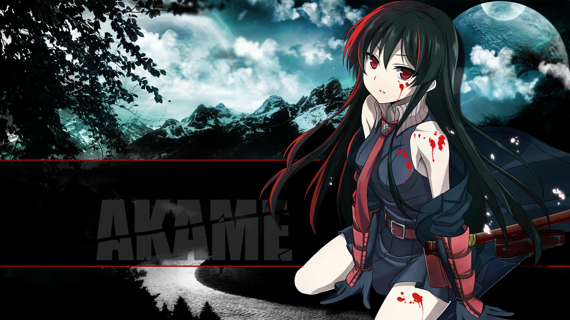 Akame ga kill mi anime favorito ** preciosa akame Akame