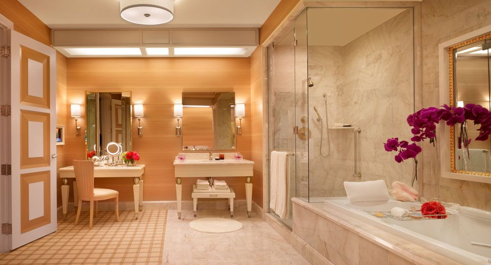 Wynn Las Vegas Tower Parlor Room Bathroom Five Star Alliance