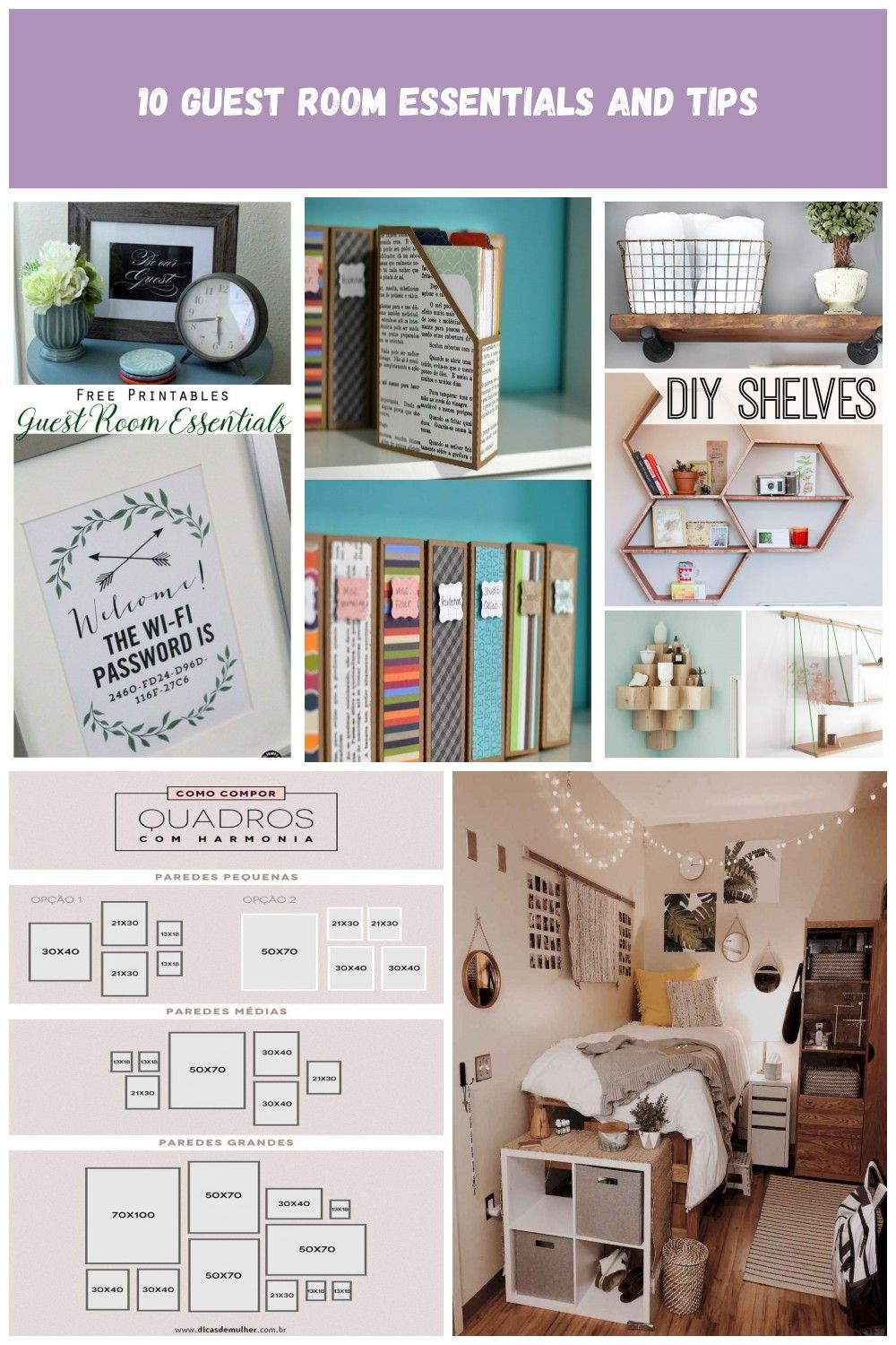 10 Guess Room Tips And Essentials Wifi Password Free Printable Guest Bedroom Ideas What Every Guest Bedr Guest Room Essentials Guess Room Room Essentials