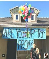 #Hoco Proposals Ideas balloons #Instagram #prom #prom2017 #prom2k17#BeautyBlog Source by fashion5771 #cute simple promposals