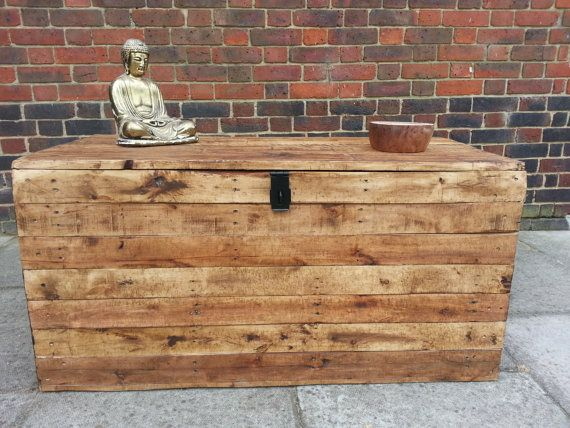 Handmade Rustic Storage Chest / Toy Box / By TimberWolfFurniture, £125.00