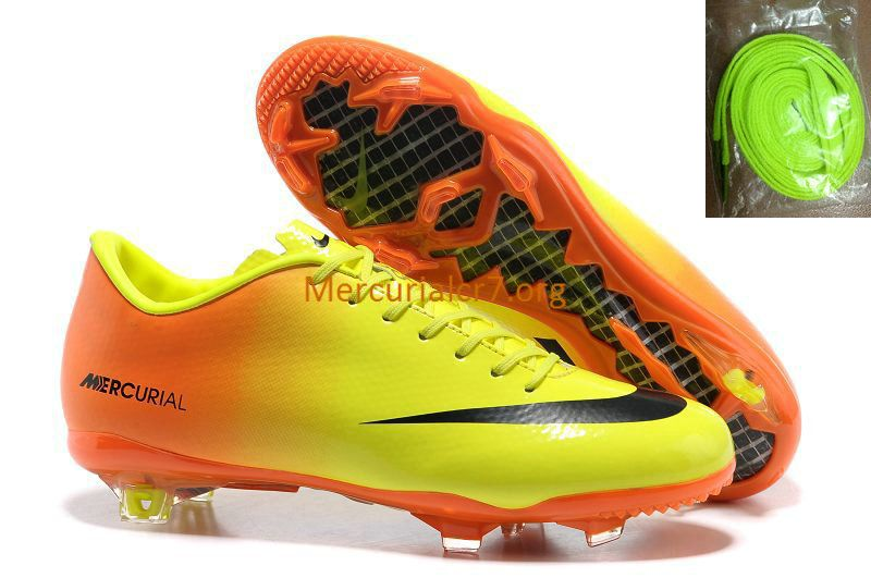 Mercurial Vapor 9 Fg Yellow Orange Black Soccer Cleats Old Football Boots Nike Football Boots Soccer Boots