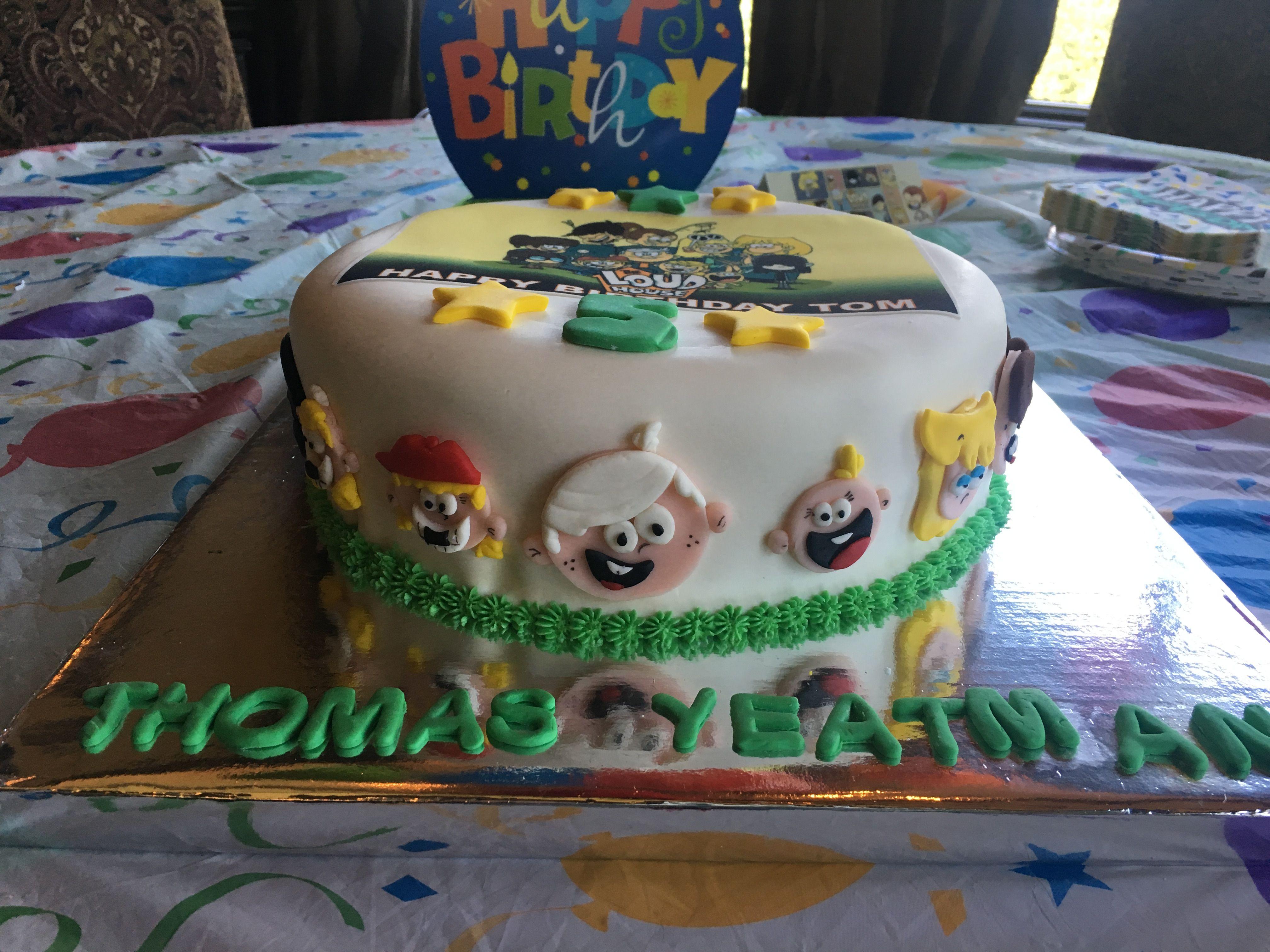 The Loud House Birthday Cake