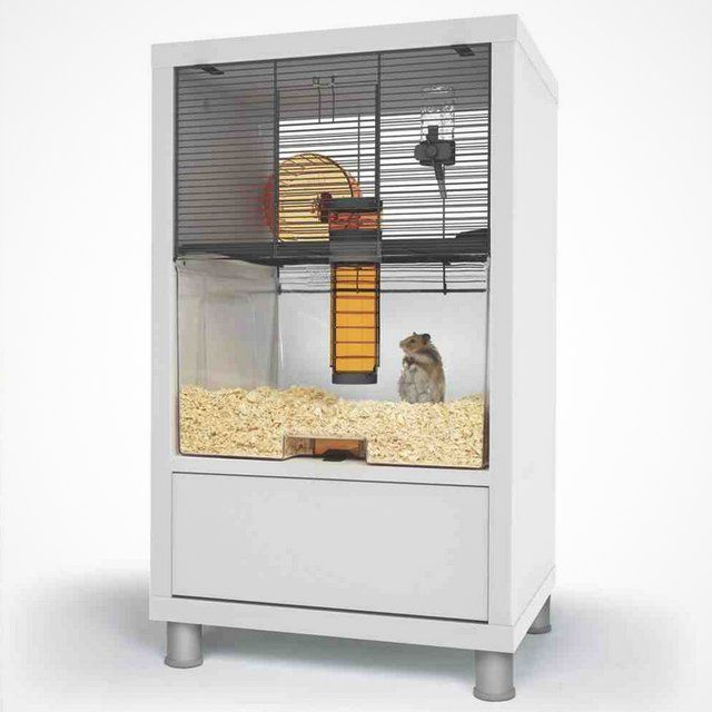 Wooden Hamster Cage With Screen Or Plexi Glass Hamster House Hamster Cage Gerbil Cages