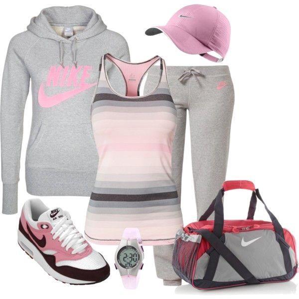 """Nike Sport Style"" b  ""Nike Sport Style"" by majalena79 on Polyvore"
