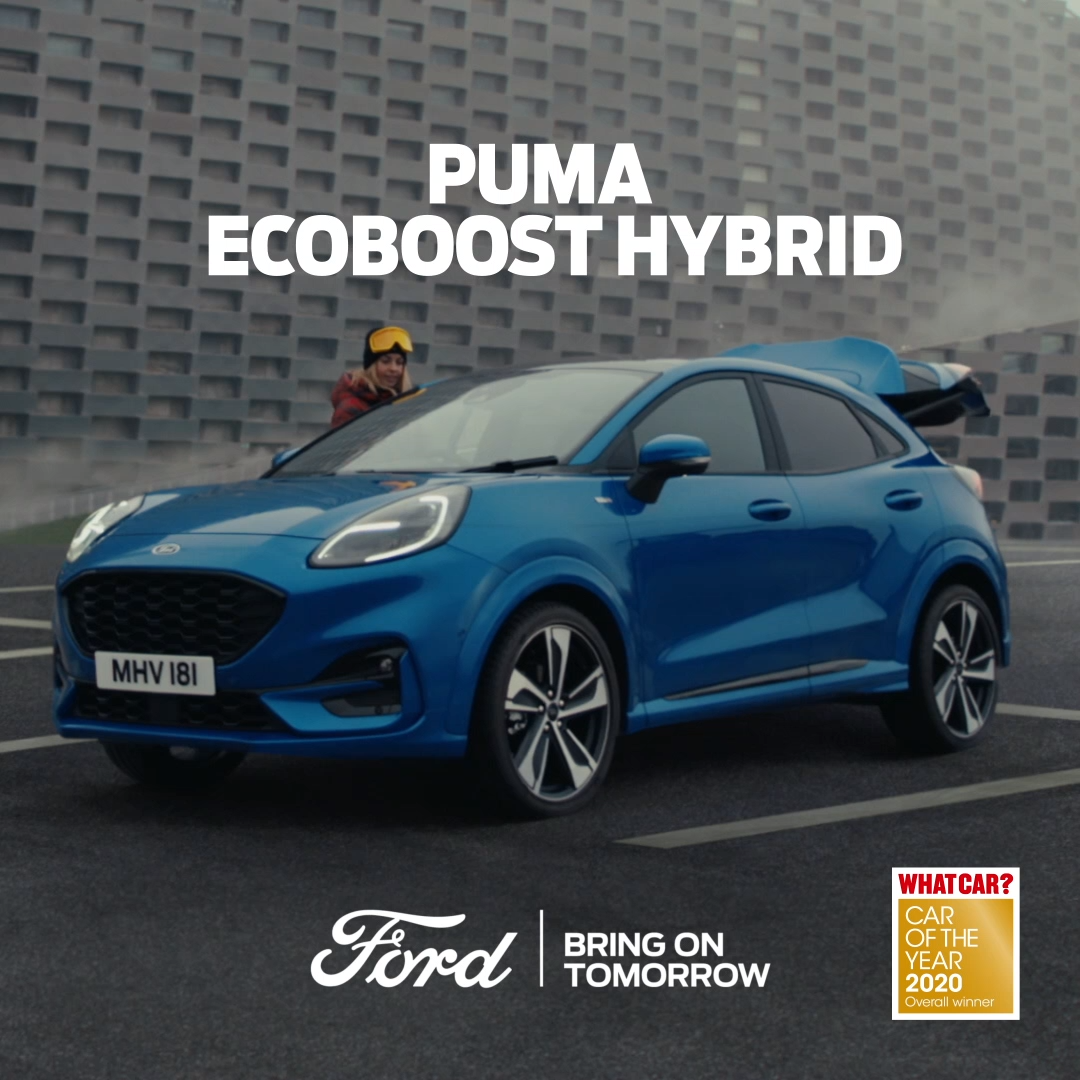New Puma Video In 2020 Ford Puma Ford 2020 Sporty Suv