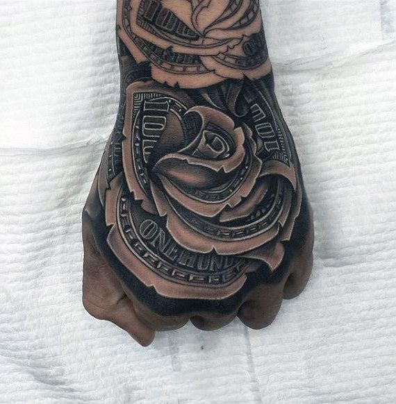 tattoos hand men tattoos forearm tattoos tattoos for men rose ...