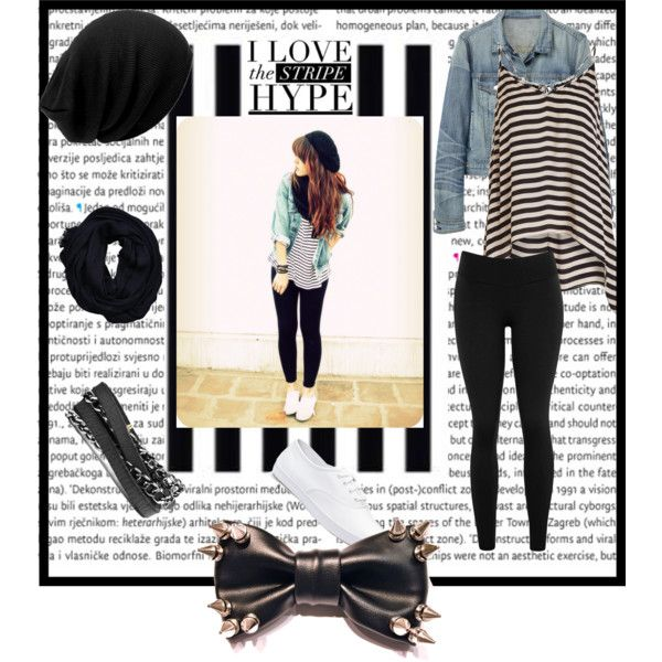 Stripes By Prettyorchid22 On Polyvore Featuring Moda Mason By Michelle Mason Rag Bone Keds Roots And Hollister Co