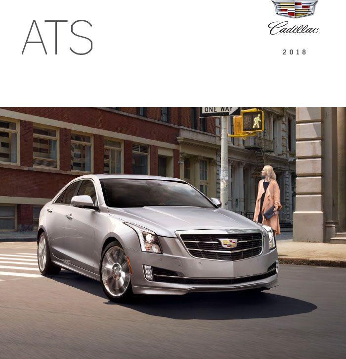 Downloadable 2018 Cadillac Ats Brochure Vehicle Brochures