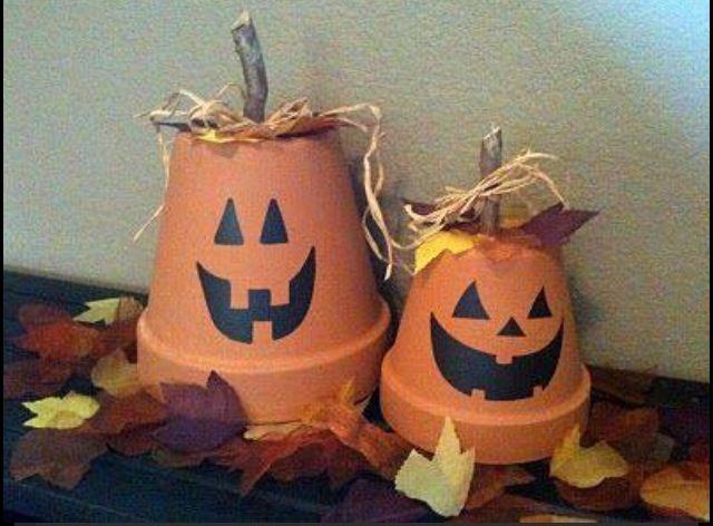 Terracota pumpkins