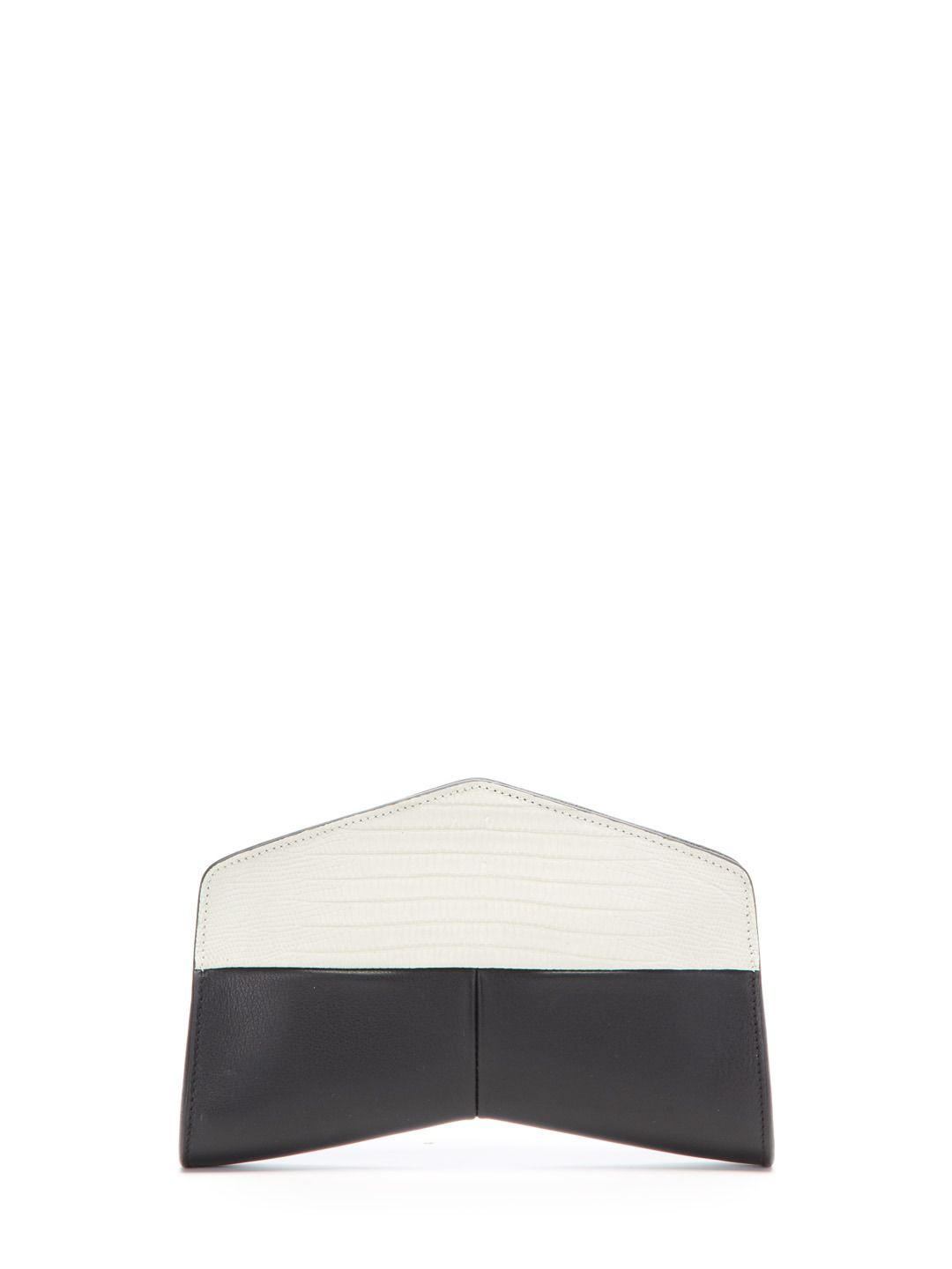 Colorblock Snake Clutch  by Narciso Rodriguez