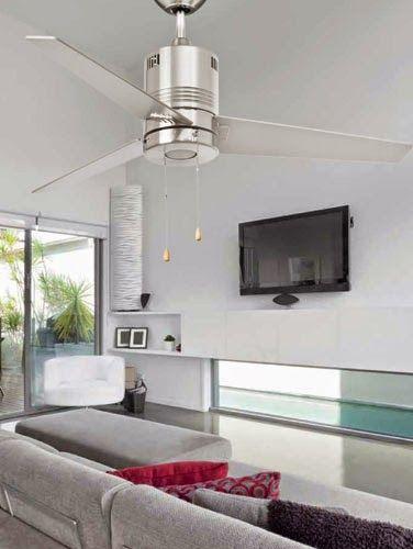 Refrescar la casa con ventiladores de techo hogar - Ventiladores silenciosos hogar ...