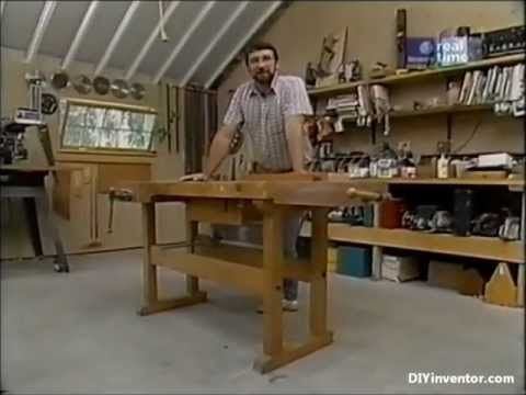 How To Build A Inexpensive But High Quality Workbench For Your Shop New Yankee Workshop Woodworking Woodworking Shop Workbench