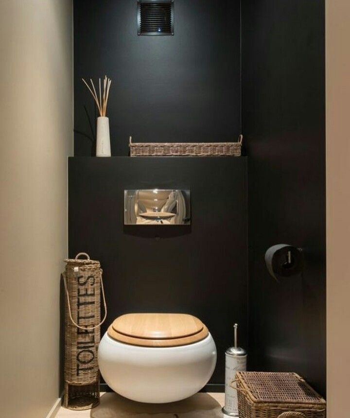 Pin by Paola Sim on Bathroom Pinterest Downstairs loo, Toilet - Comment Decorer Ses Toilettes