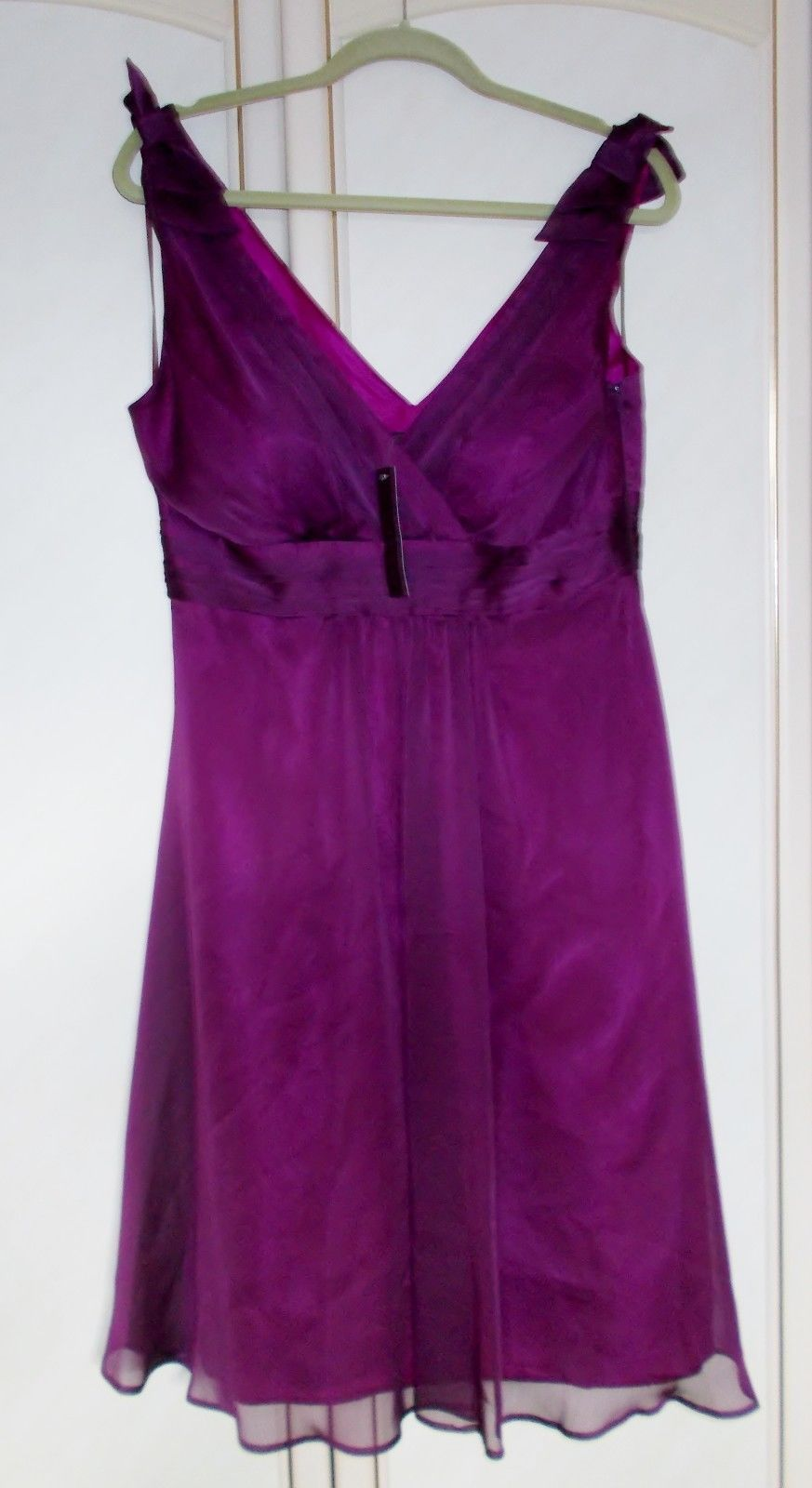 Dress for party wedding  Awesome Awesome BNWT Gorgeous Debut Debenhams Purple Dress Prom