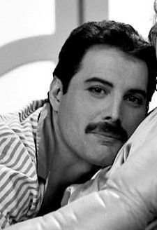 Freddie Mercury in the I Was Born To Love You video