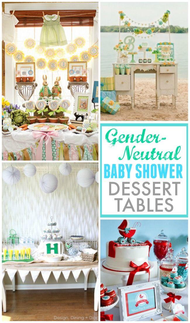 Gender Neutral Baby Shower Dessert Tables Design Dazzle Baby Shower Dessert Table Baby Shower Desserts Gender Neutral Baby Shower