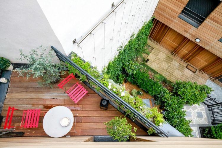 Ideen Balkon Und Dachterrasse Gestalten. pots en terrasse garden ...