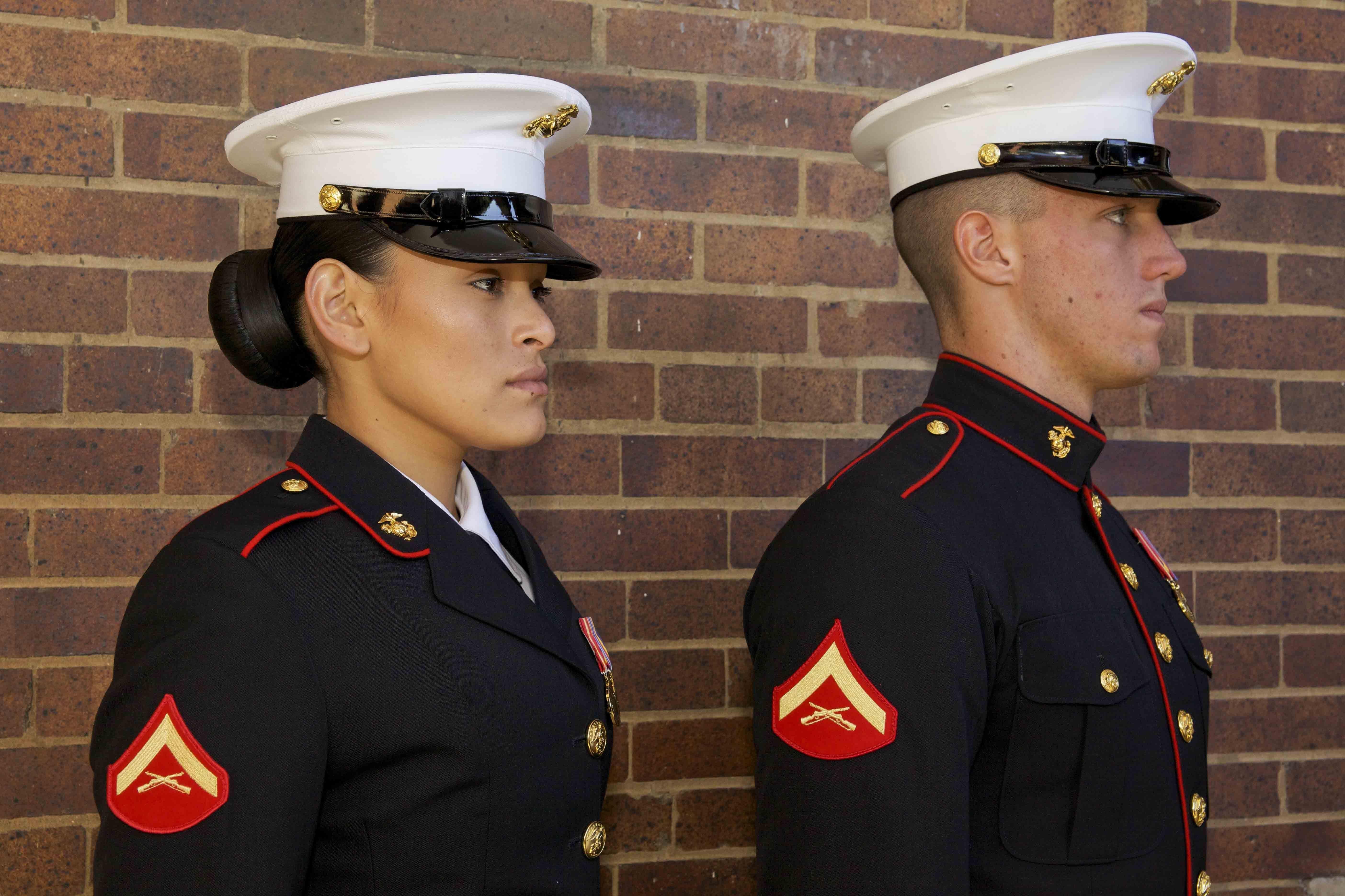 Evening dress marine corps