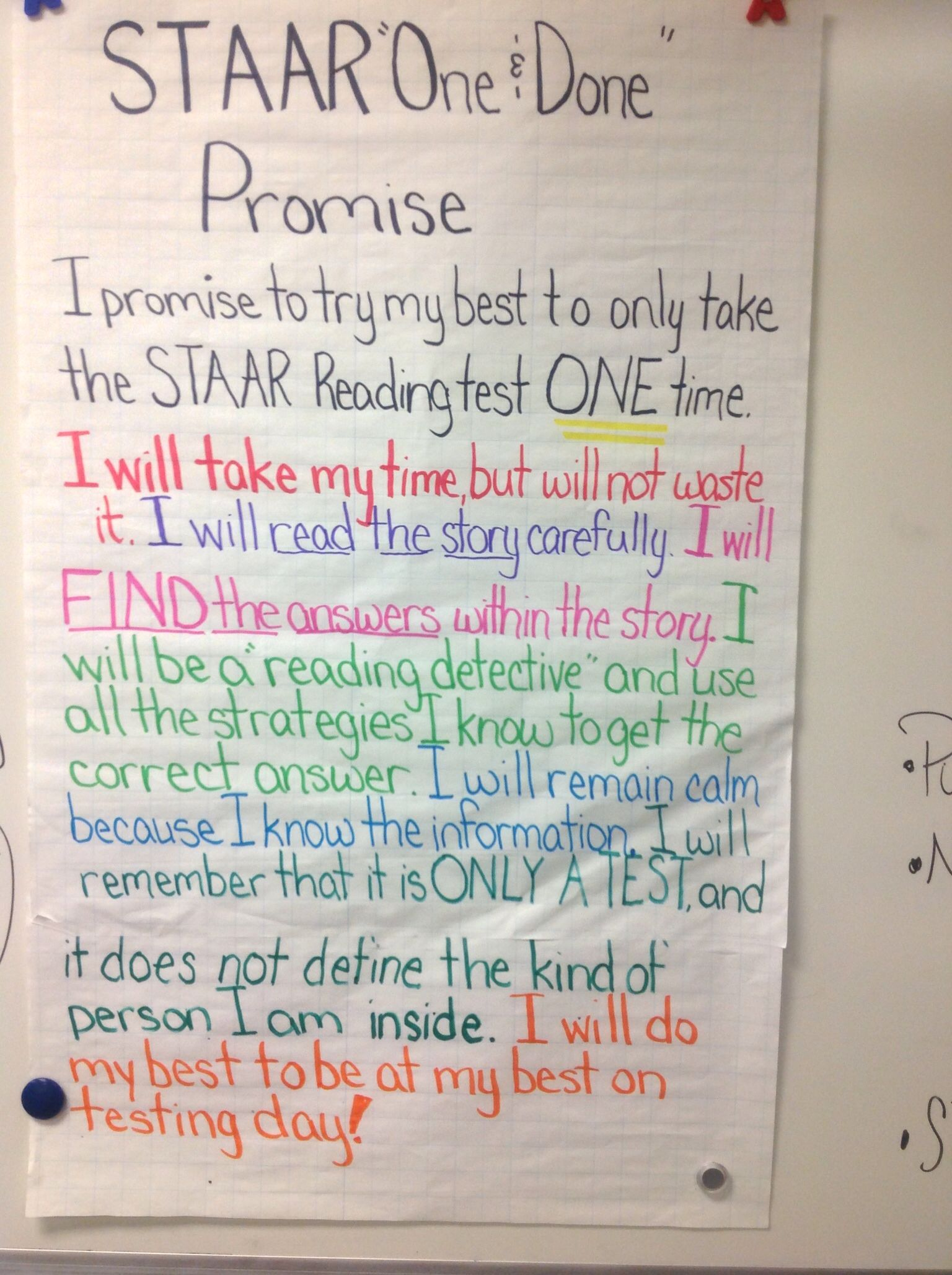 Staar Reading One And Done Promise Staar Reading Strategies Staar Reading Reading Staar Prep [ 2056 x 1536 Pixel ]