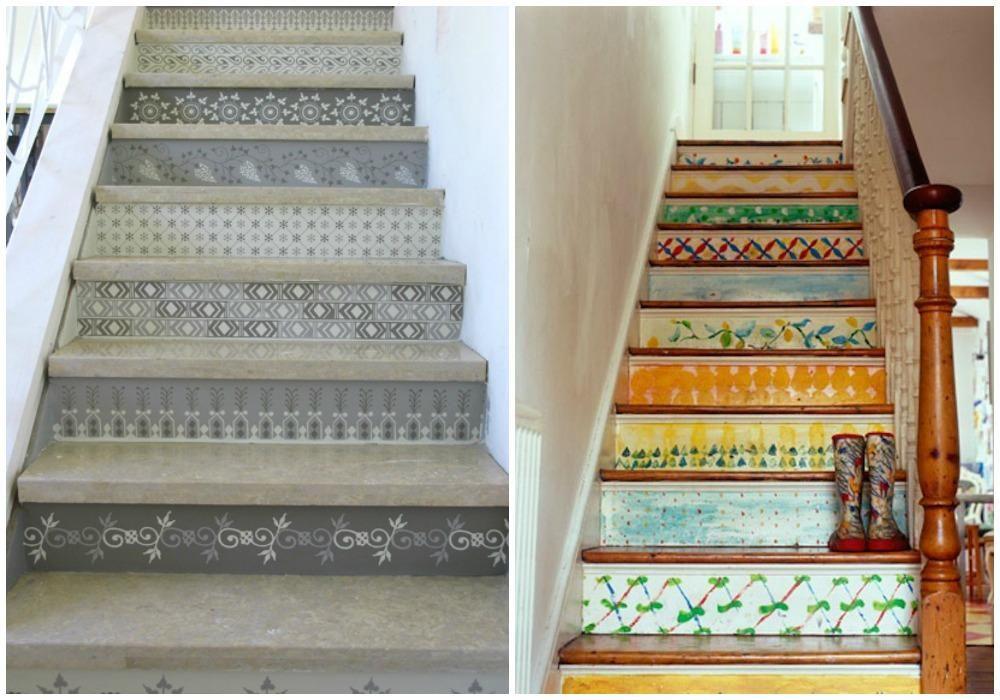 Ideas para pintar escaleras pintando escaleras escalera for Ideas para escaleras