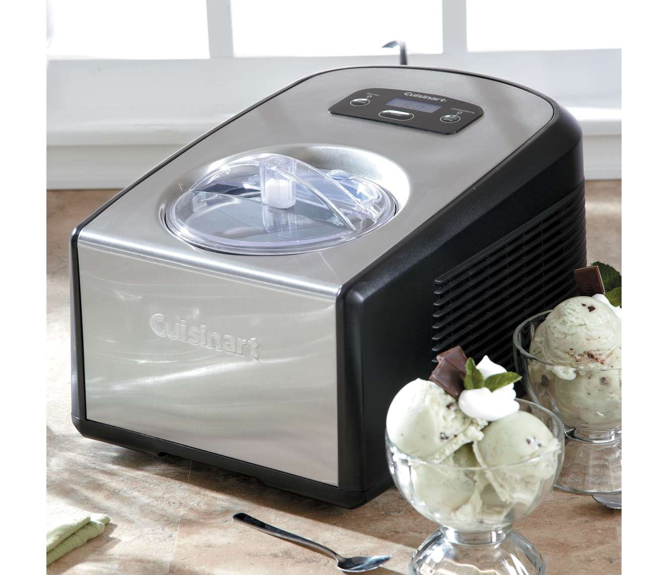 Cuisinart Commercial Quality Ice Cream Amp Gelato Maker Ice 100 Chefscatalog Com Just Add Yummy Ingredients And P Gelato Maker Cuisinart Ice Cream Gelato