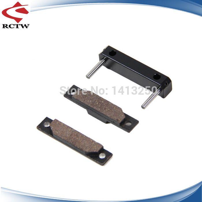 Click to Buy << 1:5 RC CAR, parts baja, CNC alloy brake pad set TS ...