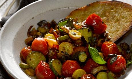 Riber Cottage Tomatoe Recipes Roast Tomato Sauce Ratatouille Provencale Tomatoes Fried Green Tomatoes