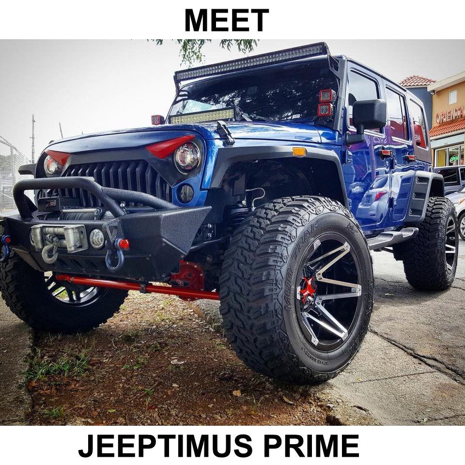The Jeep Transformer Jeep Wrangler Jeep Lifted Jeep