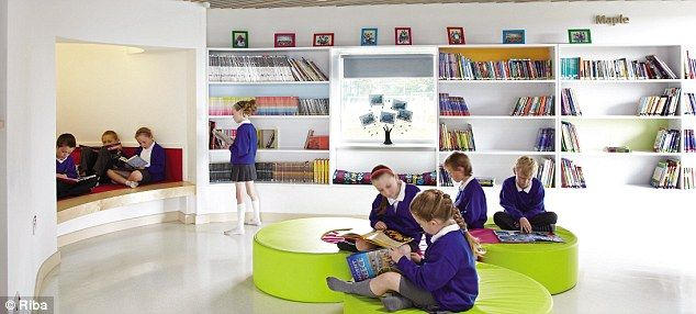 Open Classroom Design ~ Best new buildings in the uk a rebuilt castle library