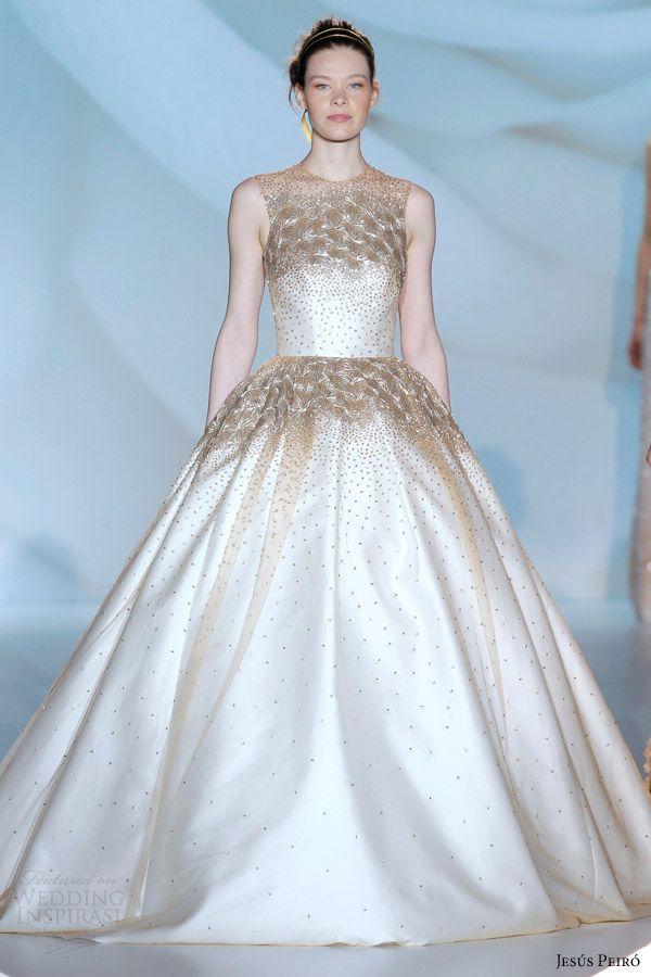 17 Best images about gold wedding dress on Pinterest | Wedding ...
