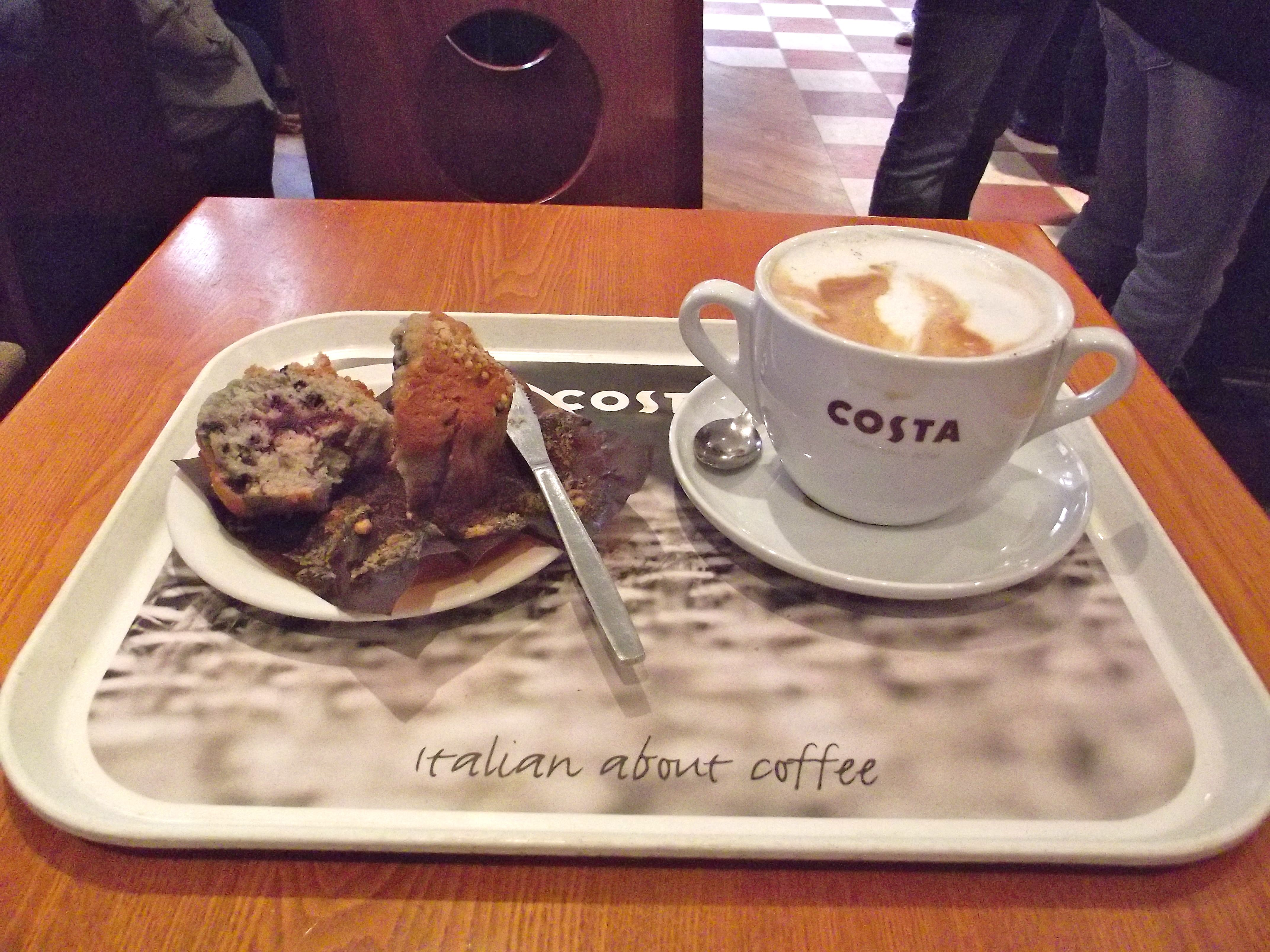 Costa Coffee Wish We Had Them In The Us Costa Coffee Coffee Tableware