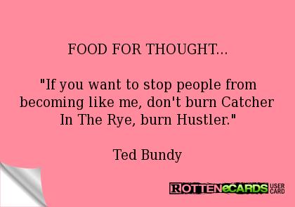 Dont Burn Catcher In The Rye Burn Hustler