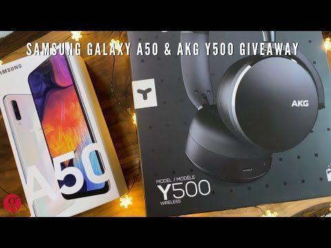 Samsung Galaxy A50 & AKG Y500 Giveaway