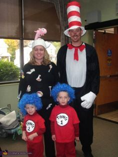Easy-Halloween-Costumes-for-Family.jpg  sc 1 st  Pinterest : family of four costumes  - Germanpascual.Com