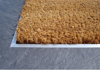 Entryway Option Instead Of Tile Eagle Mat Recessed Cocoa Mats Are Manufactured Using The Husk Fibers Of Naturally Grown Co Door Mat Coir Mat Front Door Mats