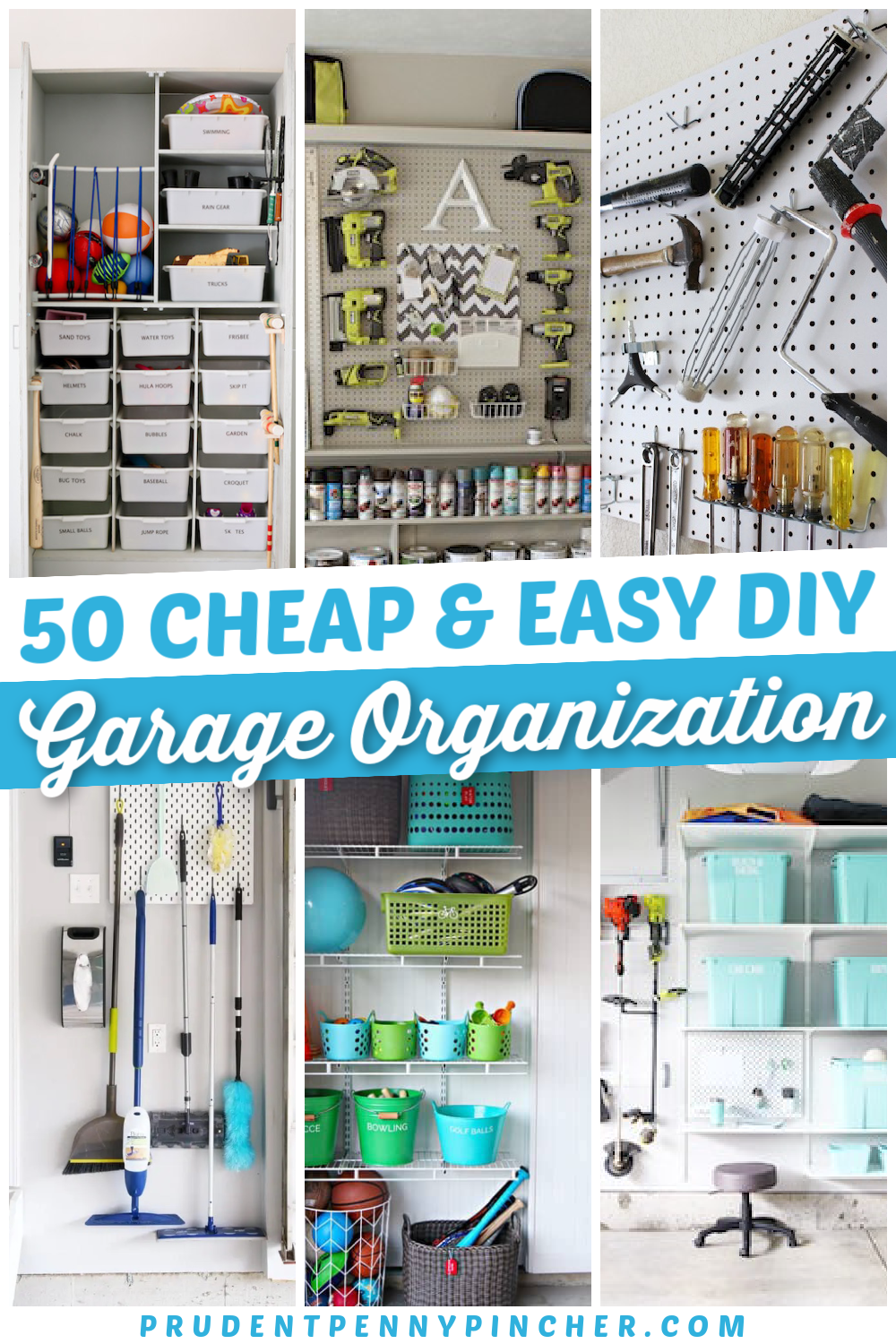 50 Cheap And Easy Garage Organization Ideas In 2021 Garage Organization Closet Organization Diy Garage Organization Tips