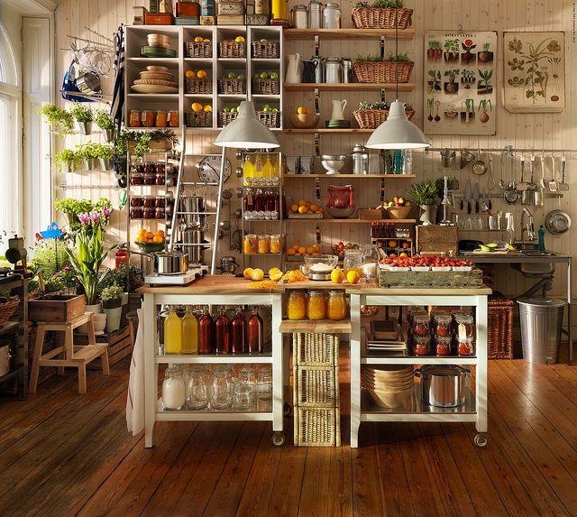 Ähnlich modulküche IKEA, Mix aus Metall und Holz! | Wohnung Ideen ...